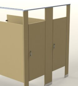 Powder Coated Partitions